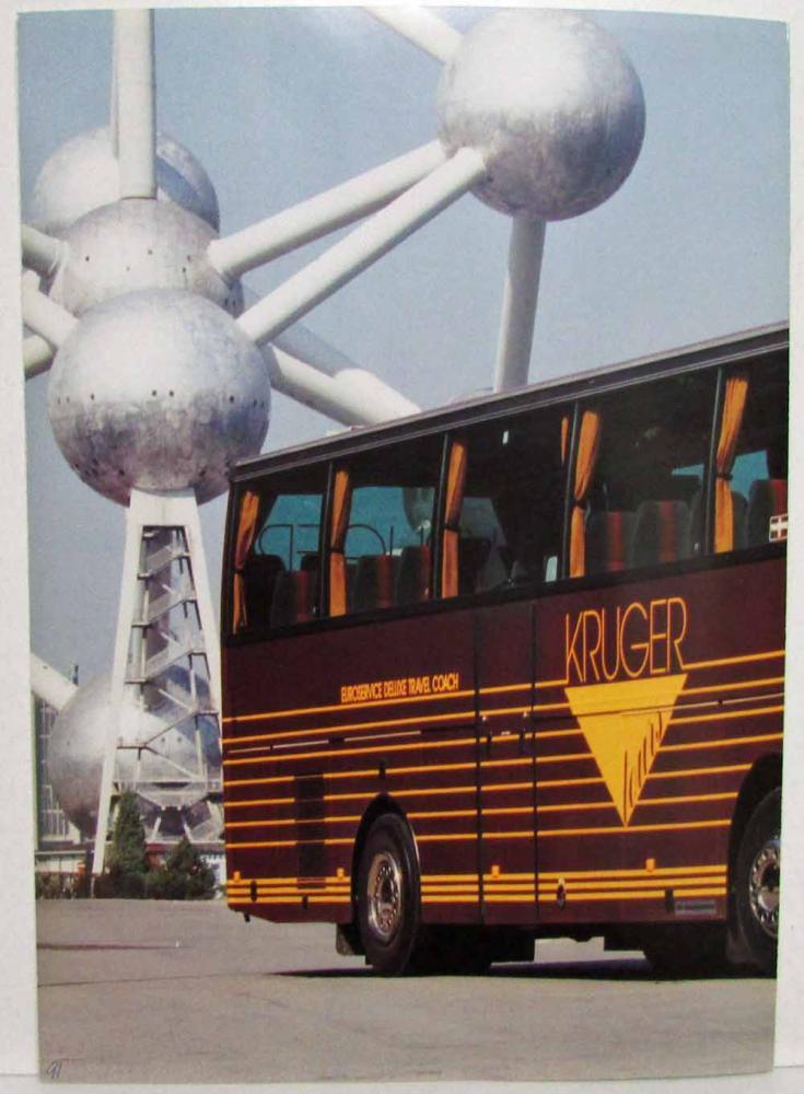 1991 Van Hool T815 Acron Coach Bus Picture Sales Folder