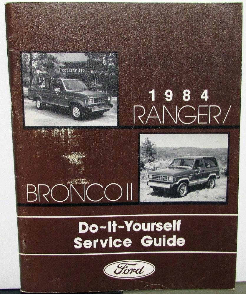 1984 toyota truck repair manual