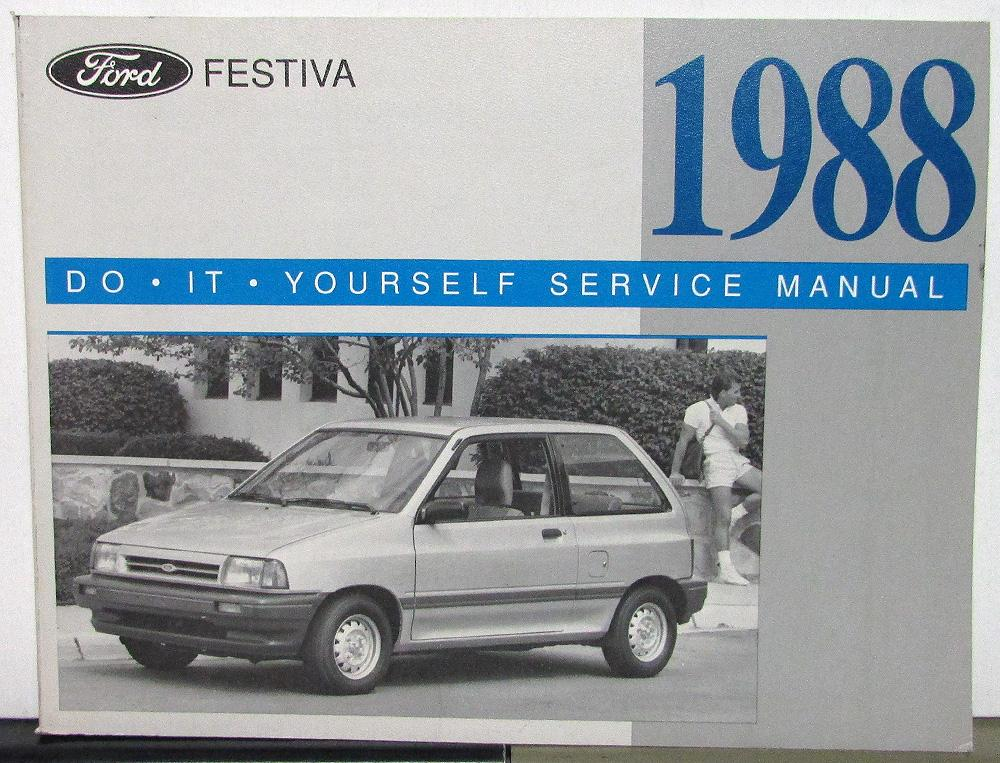 1988 ford festiva owner maintenance light repair manual do it 1988 ford festiva owner maintenance light repair manual do it yourself service solutioingenieria Images