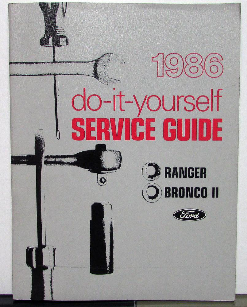 1986 ford ranger bronco ii owner maintenance light repair manual do 1986 ford ranger bronco ii owner maintenance light repair manual do it yourself solutioingenieria Image collections