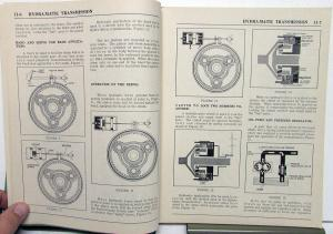1950-52 Hudson Dealer Service Shop Manual Hydra-Matic Transmission Repair Orig