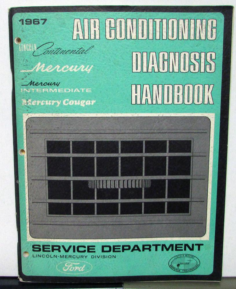 lincoln mercury dealer service manual air conditioning diagnosis