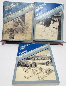 1978 AMC Technical Service Shop Manual Set W/Supplements Pacer Gremlin AMX