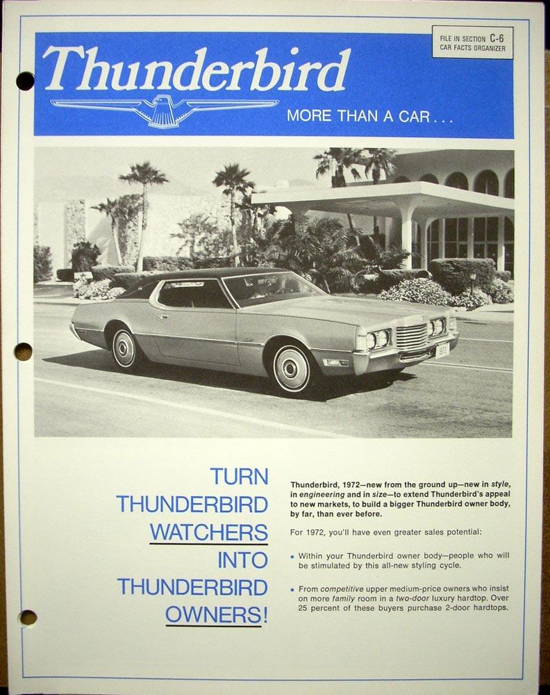 1972 Ford Lincoln Mercury Wiring Vacuum Diagrams Mustang Cougar Thunderbird