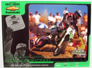 2000 Team Chevy Trucks & Kawasaki Team Green Ricky Carmichael Sales Sheet