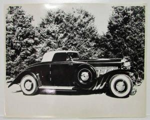 1933 Duesenberg Photo Reprint with Trees in Background