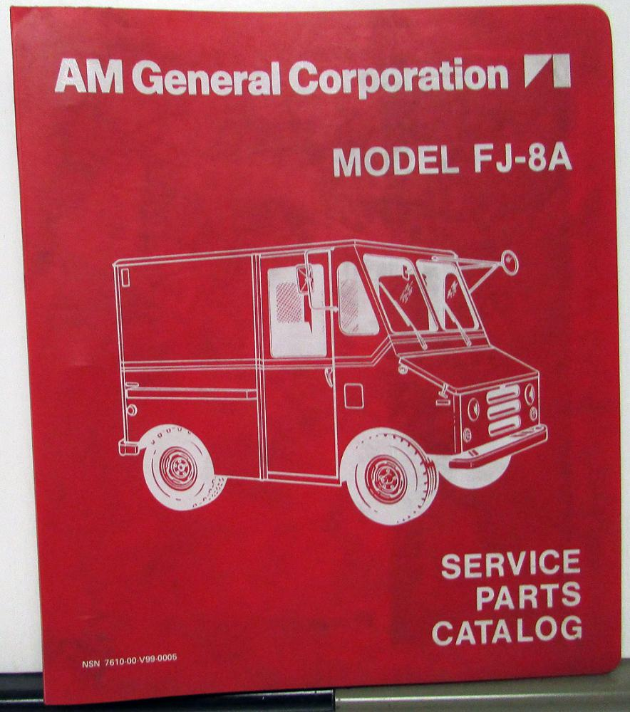 1975-76 AM General Corporation FJ-8A Small Delivery Truck