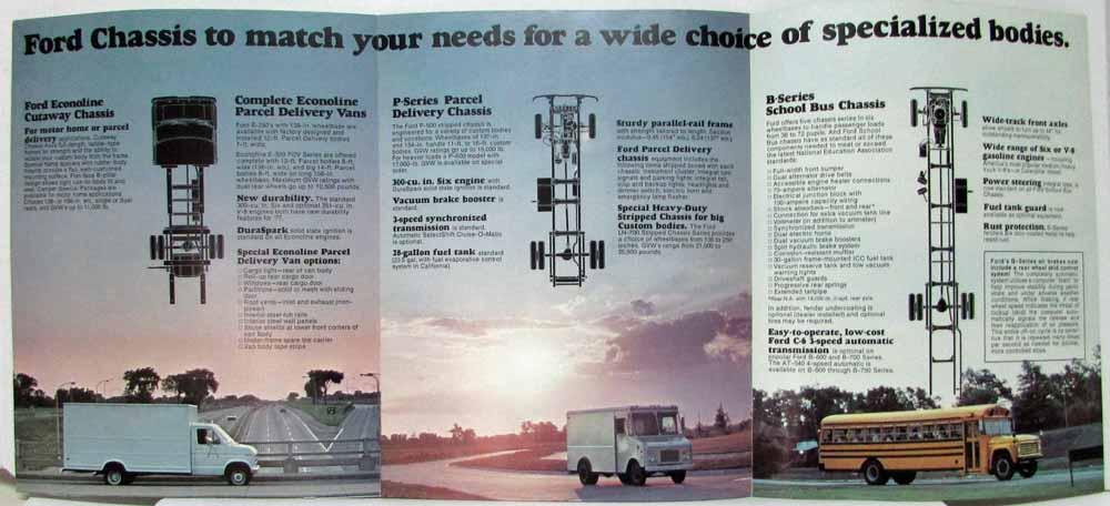 1977 Ford School Bus Motor Home Parcel Delivery Chassis