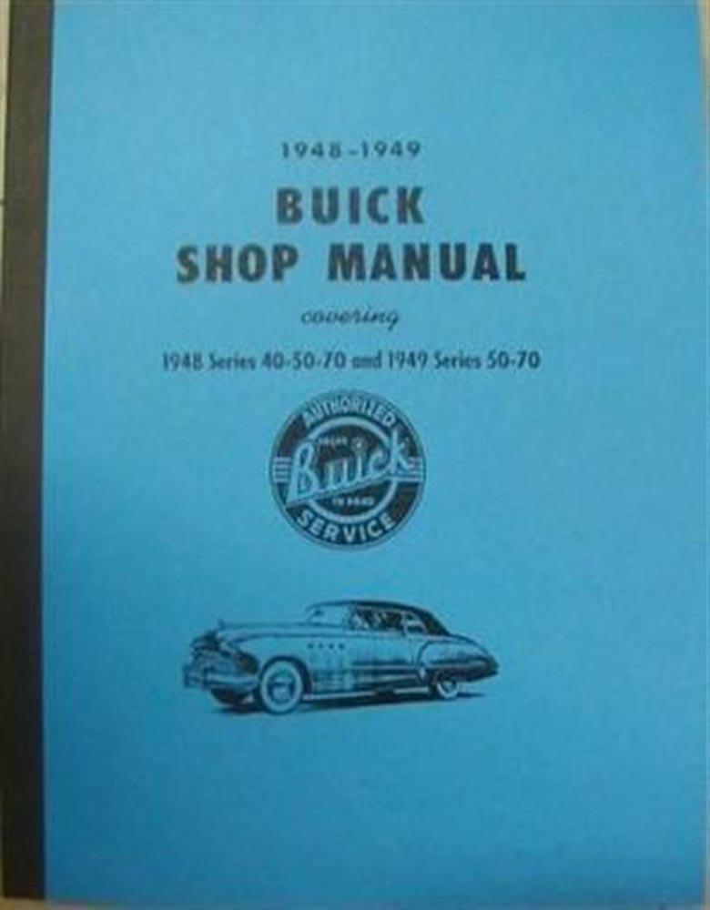1948 1949 buick special super roadmaster shop service repair manual rh autopaper com 1940 buick service manual buick service manual free