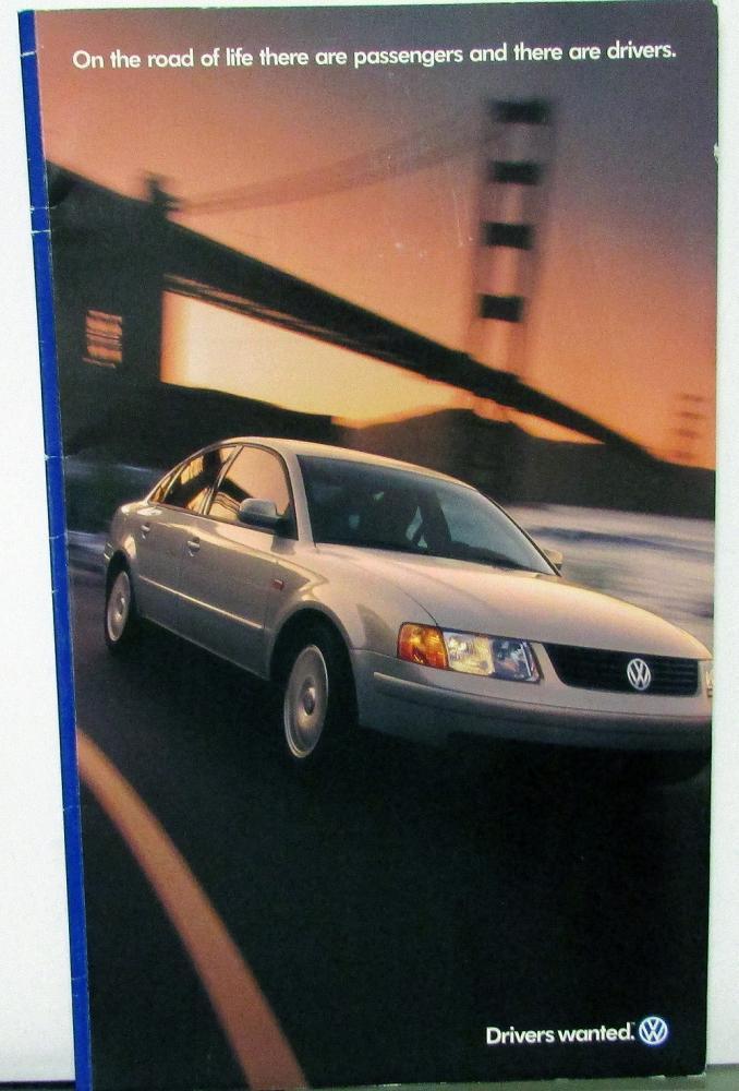 1993 Volkswagen VW Fox  Dealer Sales Brochure Folder