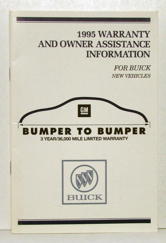 1995 buick park avenue operators owners manual original rh autopaper com 1980 Buick Park Avenue 1980 Buick Park Avenue