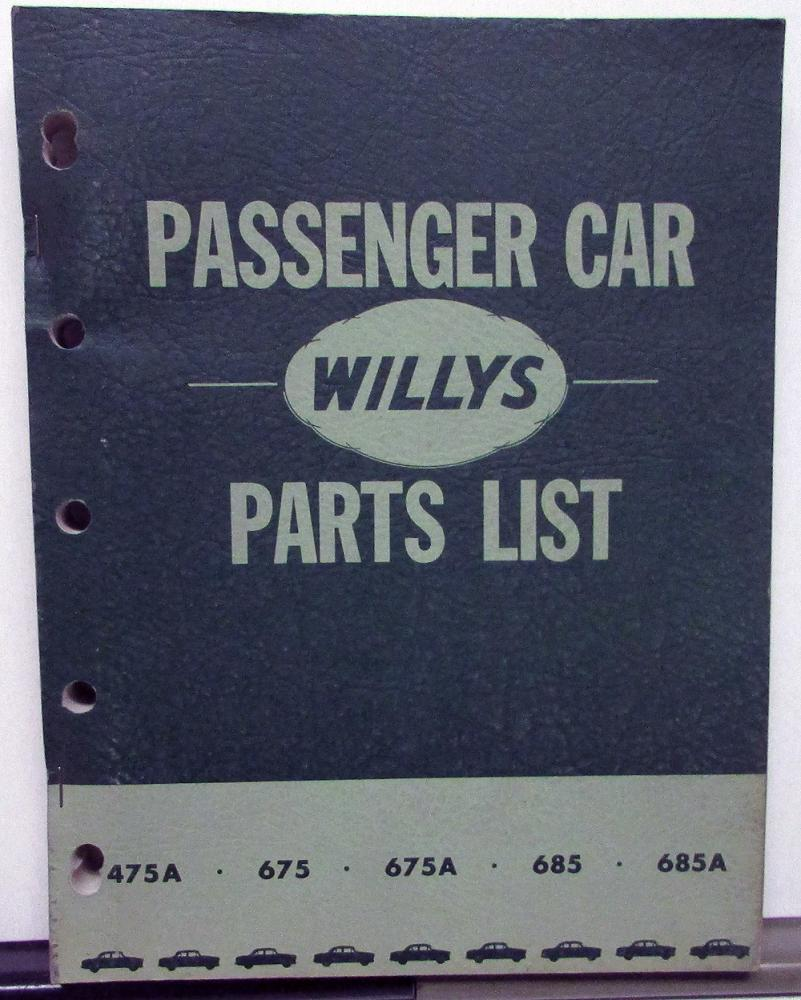1952 Willy Wiring Diagram