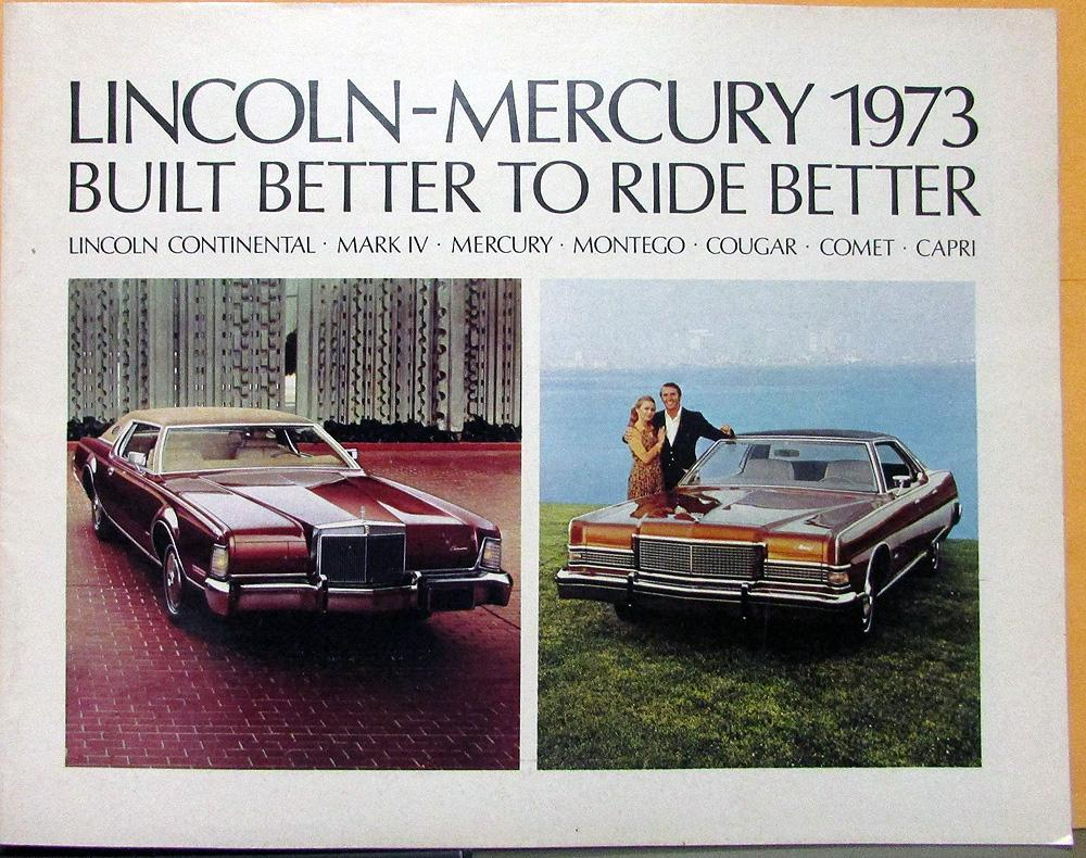 1973 Lincoln Mark Iv Wiring Diagram Trusted Diagrams Cougar Mercury Continental Montego Comet Sales 75