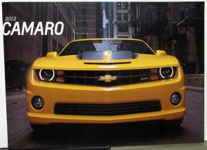 2013 Chevrolet Camaro Dealer Sales Brochure ZL1 SS Large Prestige