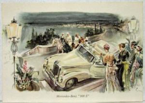 1952 Mercedes 300 S Post Card