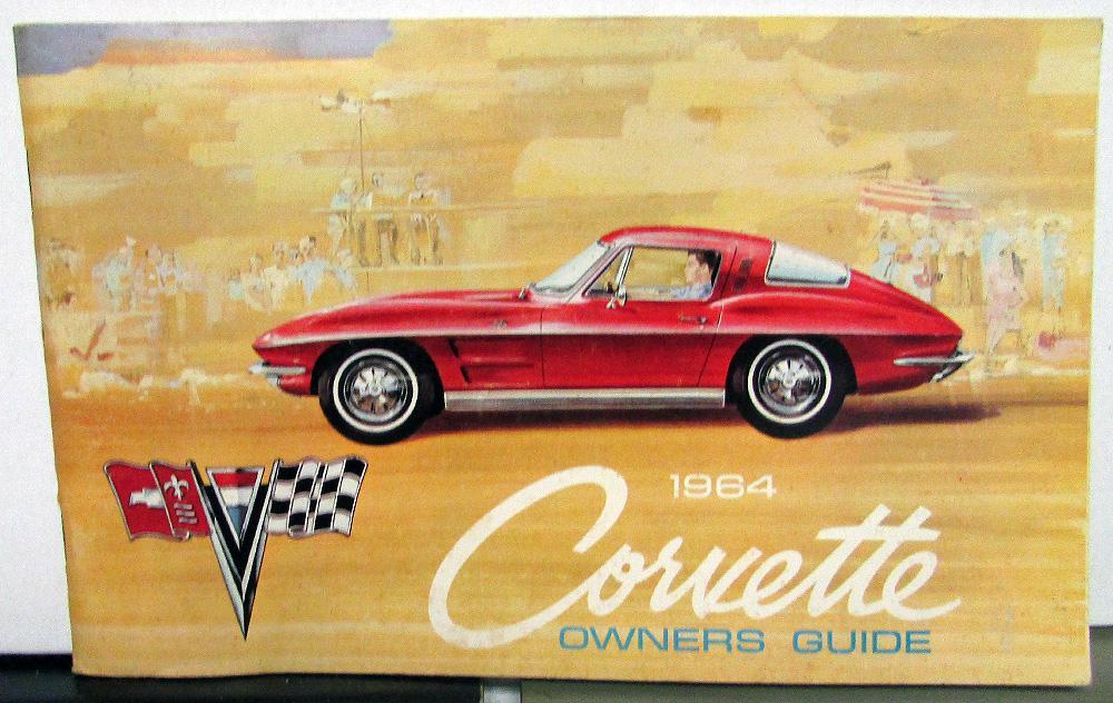 1964 chevrolet corvette owners manual care operations maintenance rh autopaper com 1991 Corvette 1991 Corvette