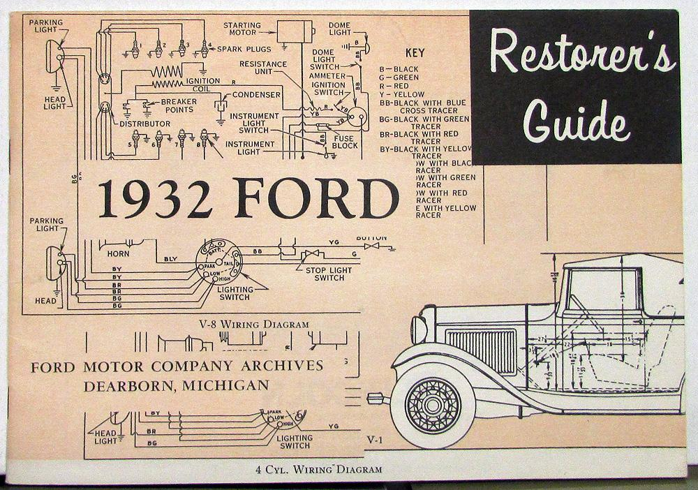 1932 Ford Wiring Diagramrh04ansolsolderco: 1934 Ford Wiring Diagram At Gmaili.net