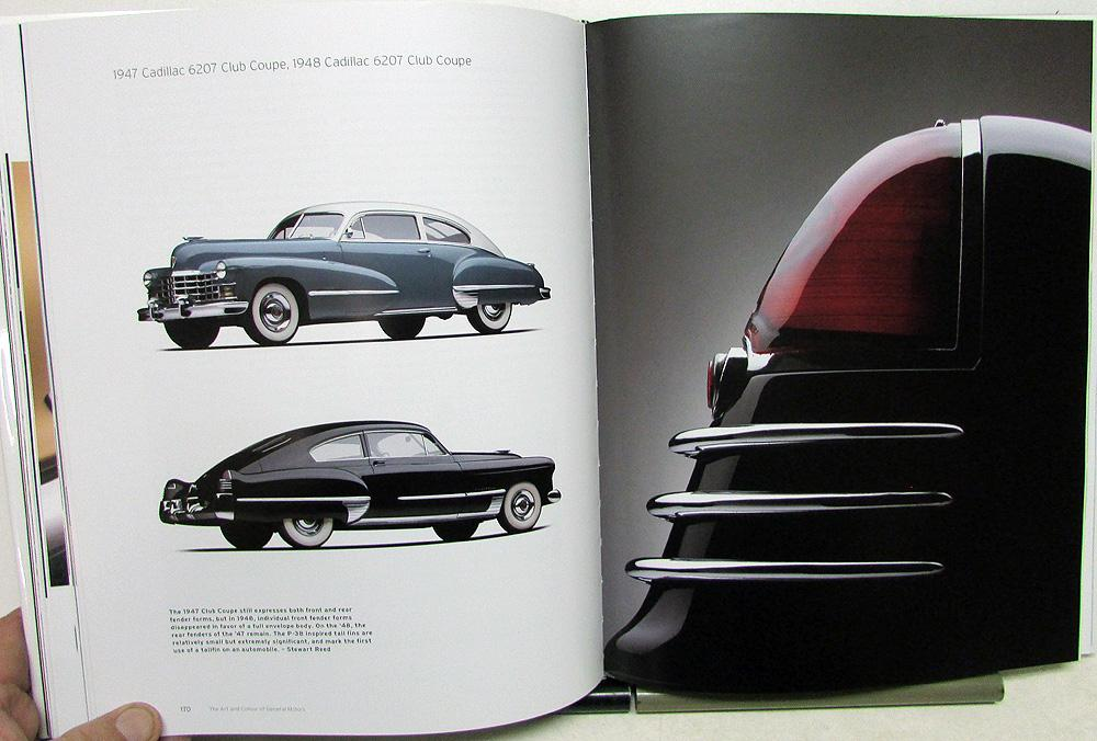 The Art And Colour Of General Motors Gm Historical Hardback Coffee Table Book