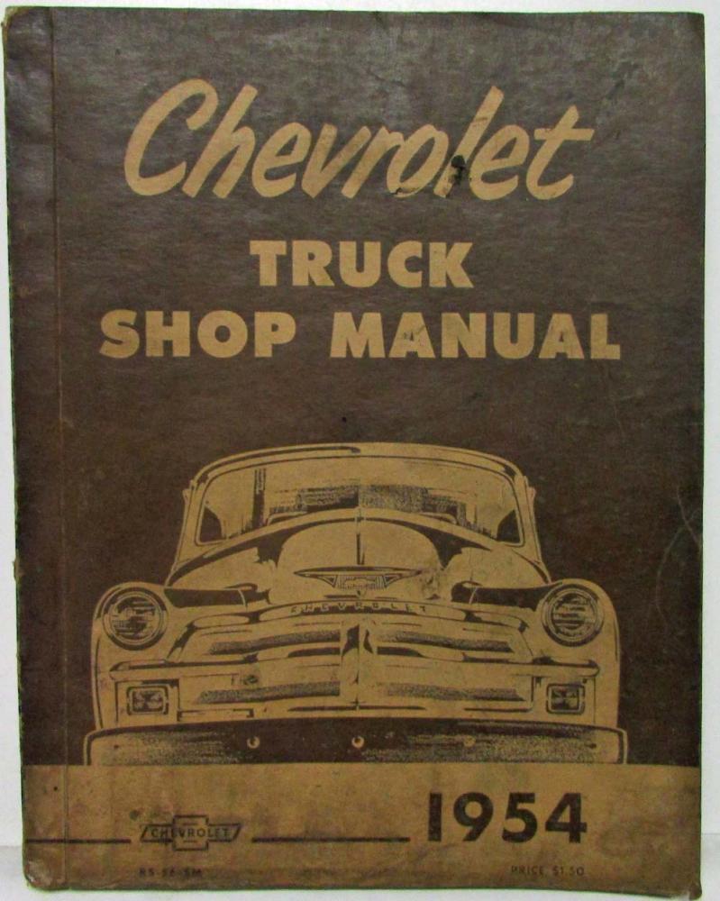 1954 chevy truck shop manual free owners manual u2022 rh wordworksbysea com 54 Chevy 54 Chevy