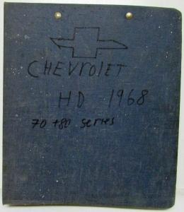 1968 Chevrolet Truck Heavy Duty Series 70 and 80 Service Shop Repair Manual