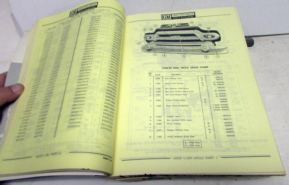 1968 chevrolet gmc truck canadian dealer master parts book 1958 1968 chevrolet gmc truck canadian dealer master parts book medium duty sciox Gallery