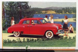 1948 Studebaker Champion Regal Deluxe Forget The Heat Sales Mailer