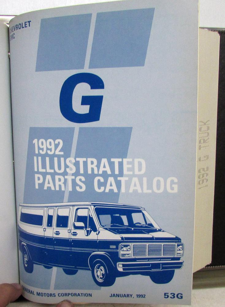 1992 gmc vandura parts