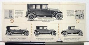 1925 Willys-Knight Model 64 66 & 67 Sales Brochure & Specifications