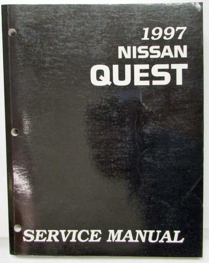 1997 nissan quest service shop repair manual model v40 series rh autopaper com 1997 nissan quest owner's manual 1997 nissan quest repair manual