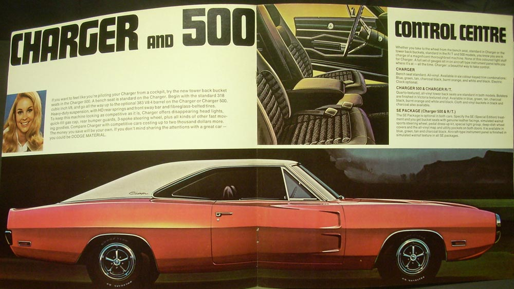 1970 Dodge Charger R T Se 500 Scat Pack Hemi Canadian