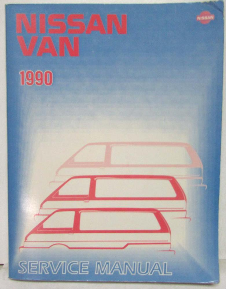 1990 nissan van service shop repair manual model c22 series rh autopaper com C24 Nissan Sunny Nissan C22
