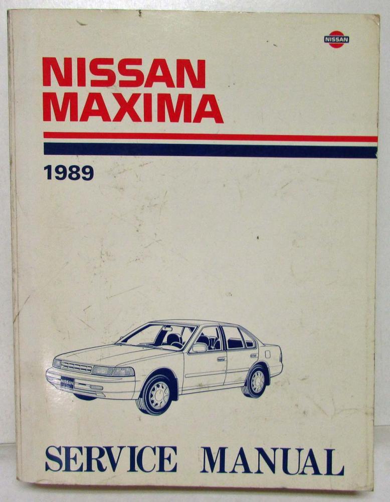 1989 nissan maxima service shop repair manual model j30 series rh autopaper com 1989 nissan maxima engine repair manual 1990 Nissan Maxima