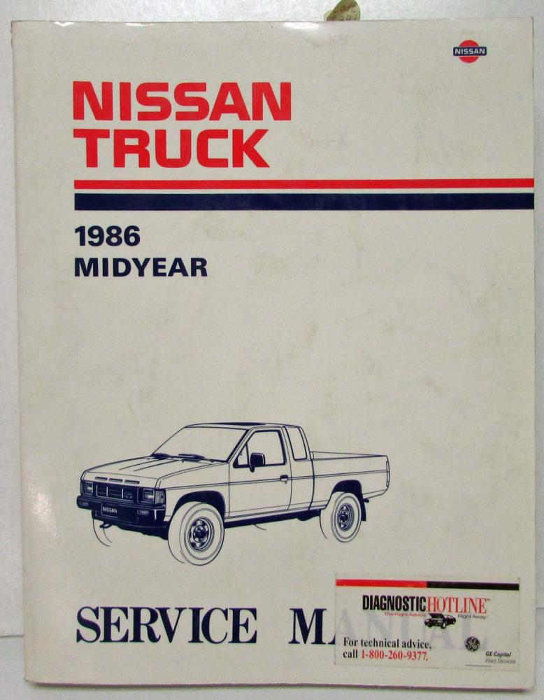 1986 5 nissan hardbody truck midyear service shop repair manual rh autopaper com 1993 nissan pickup repair manual 1994 nissan pickup repair manual pdf