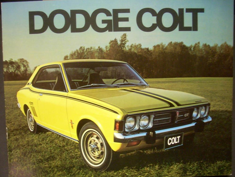 1973 Dodge Colt Canadian ORIGINAL Color Dealer Sales Brochure