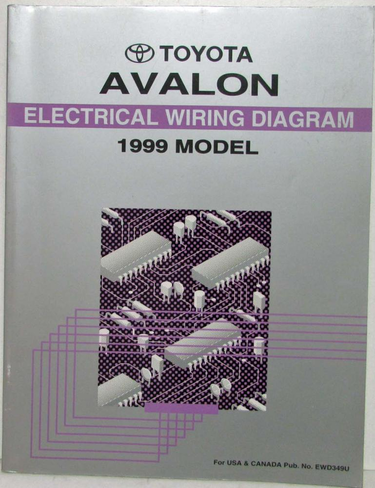 1999 toyota avalon electrical wiring diagram manual us canada rh autopaper com 2005 toyota avalon radio wiring diagram 2003 Toyota Avalon