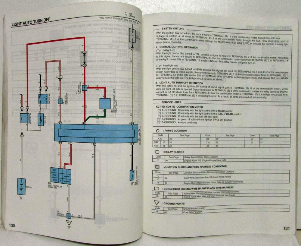 Wiring Diagram 99 4runner