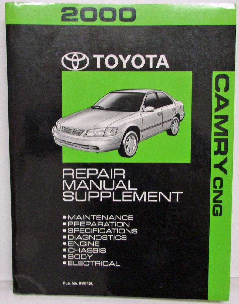 2000 toyota camry cng service shop repair manual supplement rh autopaper com 2000 toyota camry service manual pdf 2000 toyota camry owners manual pdf