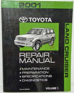 2001 toyota highlander repair manual