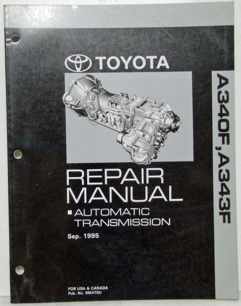 1995 toyota automatic transmission service repair manual a340f a343f rh autopaper com Datsun Automatic Transmission Automatic Transmission Wiring Harness Spacer