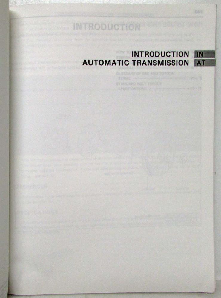 1995 toyota automatic transmission service repair manual a340f a343f rh autopaper com Automatic Transmission Repair Manual Chilton Automatic Transmission Repair Manual Chilton