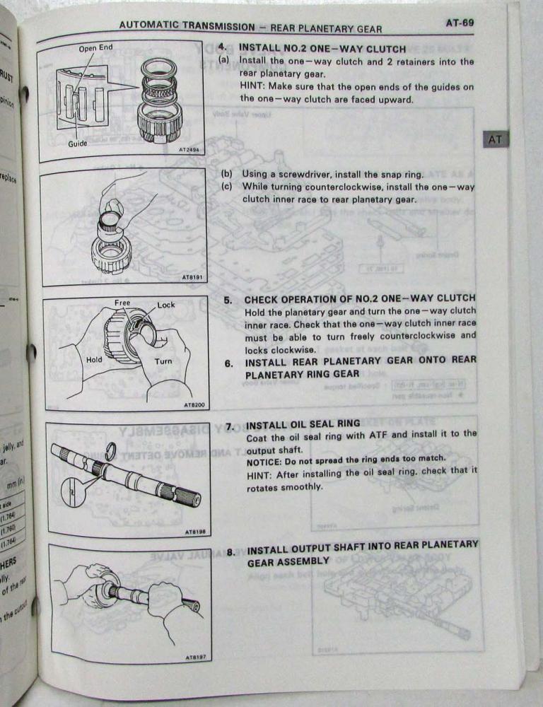1995 toyota automatic transmission service repair manual a340f a343f rh autopaper com Automatic Transmission Repair Manual Chilton Honda Automatic Transmission Repair Manual