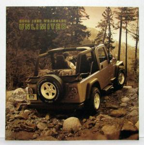 2004 Jeep Wrangler Unlimited Sales Brochure