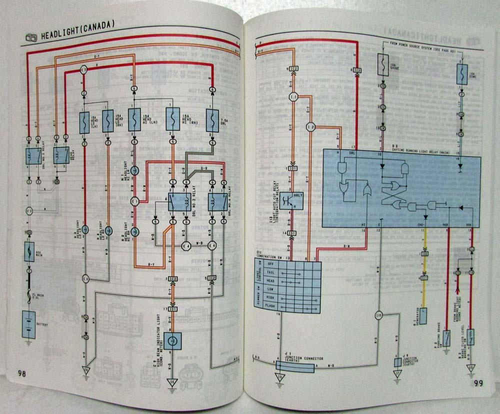 1997 Toyota Celica Electrical Wiring Diagram Manual US & Canada | 1997 Toyota Celica Wiring Diagram |  | Troxel's Auto Literature