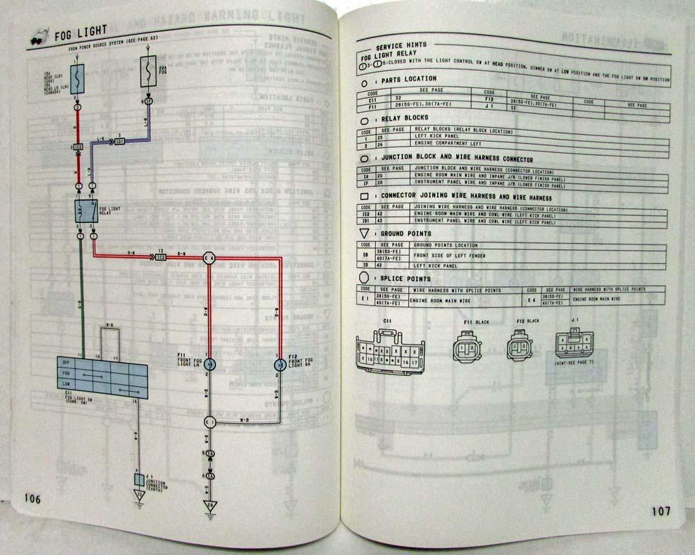 2000 toyota celica wiring diagram 1997 toyota celica electrical wiring diagram manual us ... 1997 toyota celica wiring diagram #2