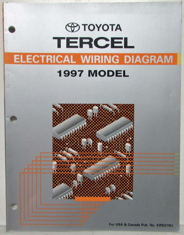 toyota tercel 97 wiring diagram - Wiring Diagram and Schematic
