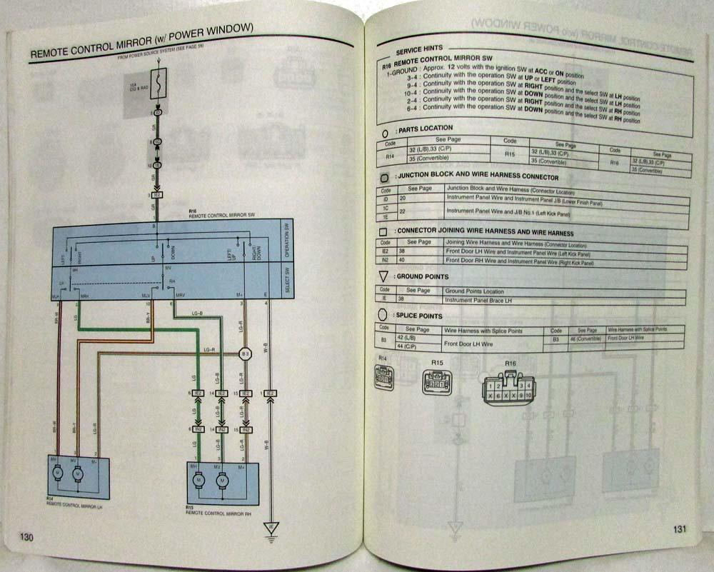 1998 Toyota Celica Electrical Wiring Diagram Manual Us  U0026 Canada