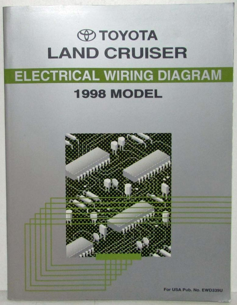 1998 toyota land cruiser electrical wiring diagram manual rh autopaper com