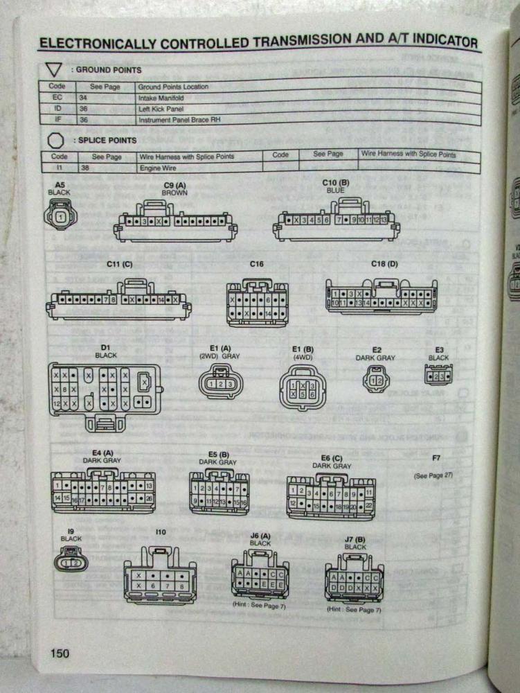 1997 rav4 wiring diagram tps 1999 toyota rav4 electrical wiring diagram manual us & canada