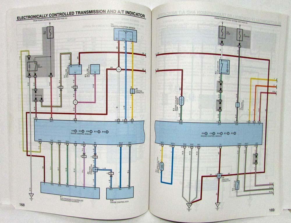 2002 toyota sienna van electrical wiring diagram manual 2009 Toyota Venza Wiring Diagram