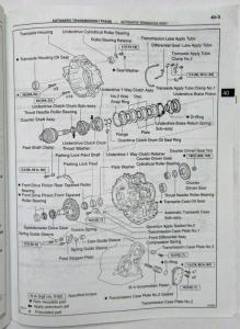 2002 Toyota Automatic Transaxle Service Repair Manual A245E ... on